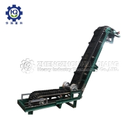 Buy cheap 1-10 T/H 60 Degree Inclination Belt Conveyor with PVC Conveyor Belt from wholesalers