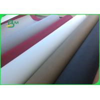 Buy cheap 0.55mm Washable kraft Paper Fabric Rolls 150cm X 110 Yard Surface Smoothness from wholesalers