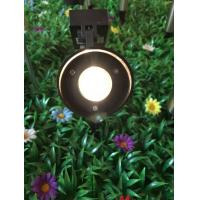 Buy cheap Stainless Steel Landscape Mono Crystal Solar LED Spotlight With Black Finished from wholesalers