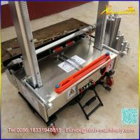 Buy cheap Automatic plaster rendering machine,Top quality wall plaster machine factory,Cement rendering machine from wholesalers