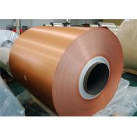 Buy cheap Temper Aluminum Siding Trim Coil / Mirror Finish Coil Coated Aluminium For Anodizing from wholesalers