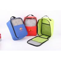 Buy cheap 600D Polyester Shoes Bag With Mesh In Front from wholesalers