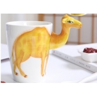Buy cheap Restaurant 9cmx11cm 450ml Camel Shaped Mug product