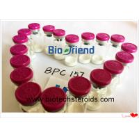 Buy cheap White Powder Pentadecapeptide Bpc 157 Bodybuilding CAS 137525-51-0 2 mg / vial from wholesalers