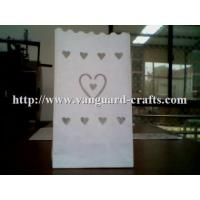 Buy cheap moon and star wedding luminarie candle bags wholesale luminary cute paper gift candle bags from wholesalers