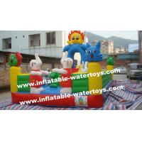 China CE Certificated 0.55mm PVC Tarpaulin Small Size Inflatable Fun City Amusement Park Chinese Supplier Factory Price on sale