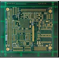 Buy cheap Double Sided Lead Free PCB Printed Circuit Board HASL With 1.6mm Thick Green Solder Mask from wholesalers