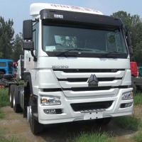 Buy cheap Low price Sinotruk 6X4 tractor HOWO truck head for sale in Africa from wholesalers