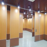 Buy cheap 85MM Aluminum Frame Sound Proof Partitions Melamine Surface Movable Wall from wholesalers