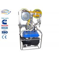 Buy cheap 350N Transmission Line Tool Self Moving Elevator Geared Traction Machine Motor from wholesalers