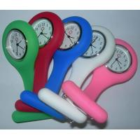 Buy cheap silicone band nurse watch from wholesalers