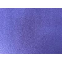 Buy cheap 390g/M English Wool Fabric Purple Color , Heavy Wool Fabric Super Soft from wholesalers