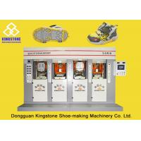 Energy - Saving Four Stations Safety Shoe Making Machine With Servo Motor