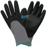 Buy cheap 13 Guage 100% Colourful Nylon Shell & Nitrile Micro Foam Coated Work Gloves-BGNC305 from wholesalers
