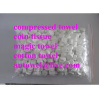 Buy cheap magic conveient compressed coin tissue product