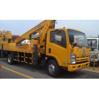 Operating Radius 7.6m Boom Lift Truck XZJ5067JGK For Aerial Work