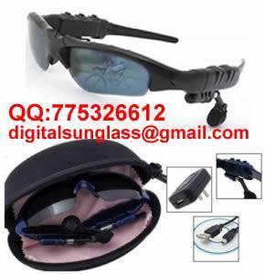 China Bluetooth Sunglasses MP3 Sunglasses Bluetooth Sunglass Mp3 Sunglass Bluetooth Headset MP3 Player on sale