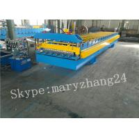 Buy cheap PPGI Steel corrugated sheet roll forming machine , roofing sheet making machine from wholesalers