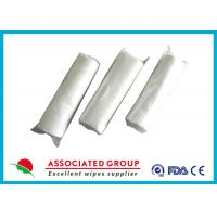 Buy cheap No Chemical Dry Non Woven Roll Plain Spunlace Breakpoint Dry Wipes No Irritation from wholesalers