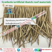 Buy cheap AT-0045 Artificial | Synthetic Palapa Thatch Roofing - Tiki bar Tiki huts from wholesalers