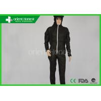 Buy cheap China Wholesales Custom Black Color Funny Non Woven Disposable Protective Coverall With Cat Ears Hood from wholesalers