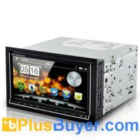 "Buy cheap Road Cyborg - 6.95"" Dual OS Car DVD Player (Android 2.3 + WIN CE, 3G + WiFi, GPS) from wholesalers"