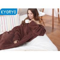 Buy cheap Comfortable Snuggle Blanket With Sleeves for Christmas and New Year Day Gifts from wholesalers
