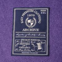 Buy cheap White Center Fold Cotton Neck Woven Garment Labels Main Lables from wholesalers