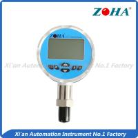 Buy cheap High Accuracy Digital Pressure Gauge 100mm With Temperature Measurement  Additional from wholesalers