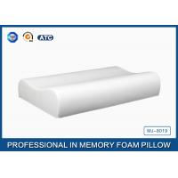 Buy cheap Pure Comfort Contoured Memory Foam Pillow With Cooling Gel / Polyurethane Foam Pillow from wholesalers