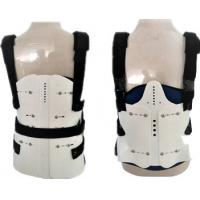 Buy cheap Perforated Breathable Fabric Lumbar Sacral Support Back Brace For Women , Men from wholesalers