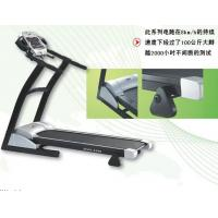 Buy cheap LED Display Cardio Fitness Equipment , Portable Electric Running Treadmill from wholesalers