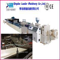 Buy cheap wood plastic composites WPC foam door plate production machine from wholesalers