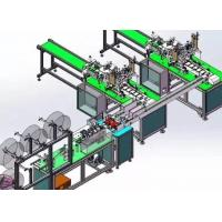 Buy cheap Full Automatic Disposable Mask Making Machine Stable Control Adjustable Speed product
