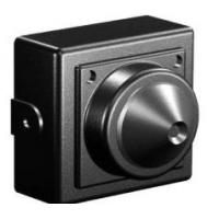 Buy cheap Black 100mA Mini Closed Circuit Television Camera With 3.7mm Super Cone Pinhole Lens from wholesalers
