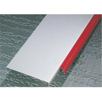 Buy cheap Decorative Hook - on Aluminium Strip Ceiling Rectangle For hotel residential ceiling from wholesalers