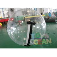 Buy cheap Germany Zipper Clear Inflatable Water Walking Ball Strong 1mm PVC TPU For Adults from wholesalers