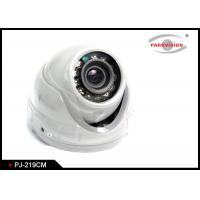 Buy cheap White Bus Rear View Camera With Rotatable Lens , Vehicle Security Camera System  from wholesalers
