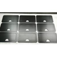 Buy cheap 150 Grind on Both Side Black Anodized Aluminium Industrial Profile For Sturdy Retractable Lid from wholesalers