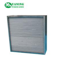 Buy cheap 304 Stainless Steel HEPA Air Filter / High Temp HEPA Furnace Filter For Oven from wholesalers
