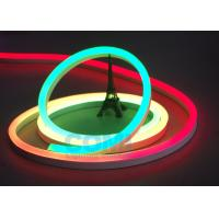 Buy cheap 24V Multi  RGB Color Neon LED Strip Lights Waterproof For Contour Profile Holiday Decoration from wholesalers