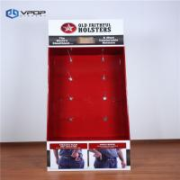 Buy cheap Holsters Cardboard Hook Display , Eco - Friendly Red Power Wing Display from wholesalers
