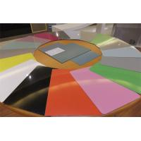 Buy cheap Color Coated Aluminium Alloy Sheet , Aircraft Grade Aluminum Sheet 1mm 1.5mm from wholesalers