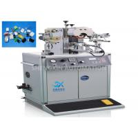 Buy cheap Oval Shape Caps Hot Foiling Machine , Semi - Auto Heat Stamping Machine product