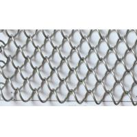 Buy cheap Metal Coil Drapery Wire Mesh Fabric For Architectural Decoration from wholesalers