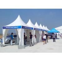 China Fashion Pagoda Party Tent 4m X 4m PVC Flame Retardant For Wedding / Event on sale