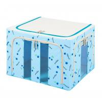 Buy cheap Durable Nylon Foldable Storage Cubes With Three Clear Window from wholesalers
