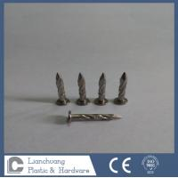 Buy cheap 2.15 X 38MM Stianless Steel Roofing Nails , Twisted Shank Nails from wholesalers