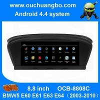 Buy cheap Ouchuangbo car dvd gps nav stereo android 4.4 BMW5 E60 E61 E63 E64(2003-2010 support HD video bluetooth music from wholesalers