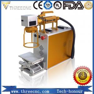 Buy cheap Portable type high precision Raycus laser source fiber laser marking machine. TL20W best prce. THREECNC product